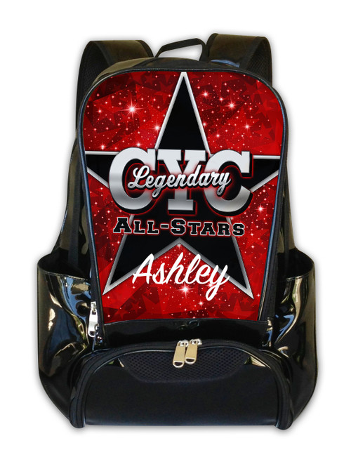 CYC Legendary All-Stars V2 - Personalized Backpack