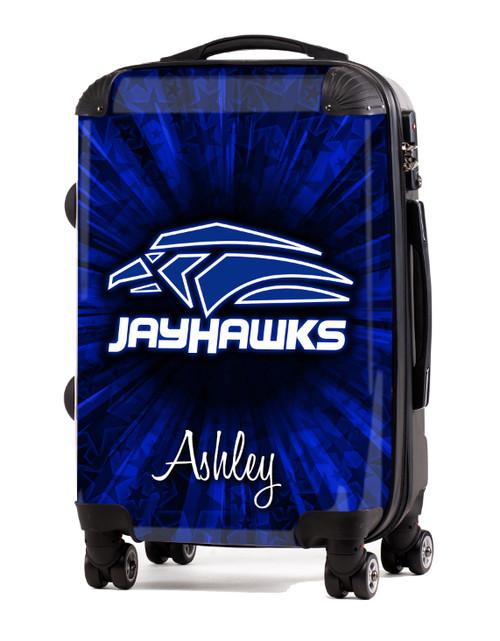 """Atlanta Jayhawks V2-  20"""" Carry-On Luggage"""