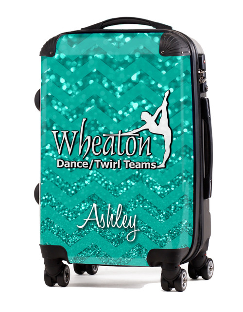 """Wheaton Dance and Twirl-V1-  20"""" Carry-On Luggage"""