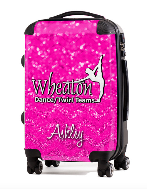 """Wheaton Dance and Twirl-V3-  20"""" Carry-On Luggage"""