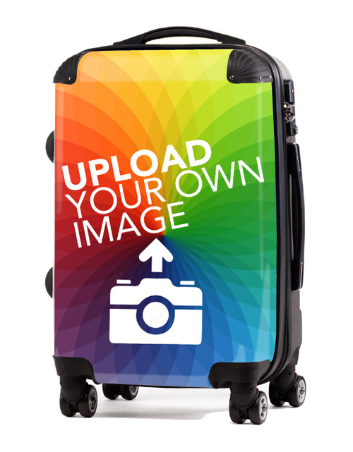 """Upload Your Image - Create a New Personalized 20"""" Check In Luggage"""