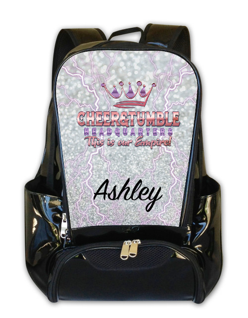 Cheer and Tumble Headquarters- Personalized Backpack