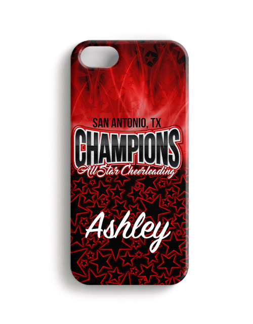 Champions All Stars SA, TX - Phone Case