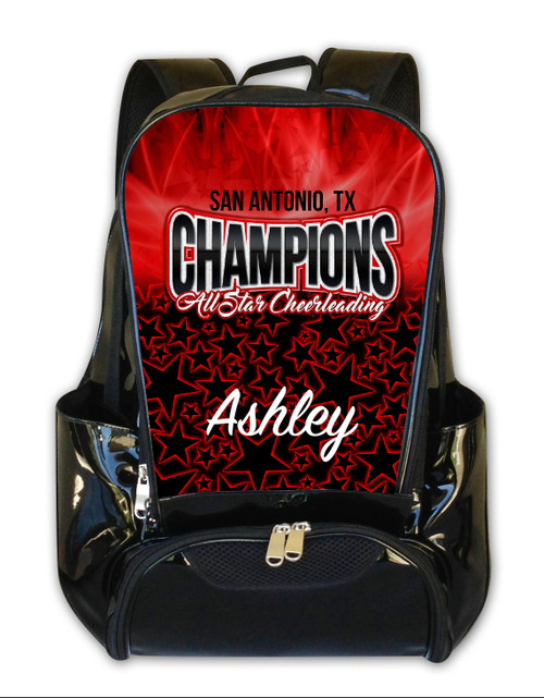 Champions All Stars SA, TX- Personalized Backpack