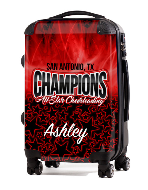"""Champions All Stars SA, TX - 20"""" Carry-On Luggage"""