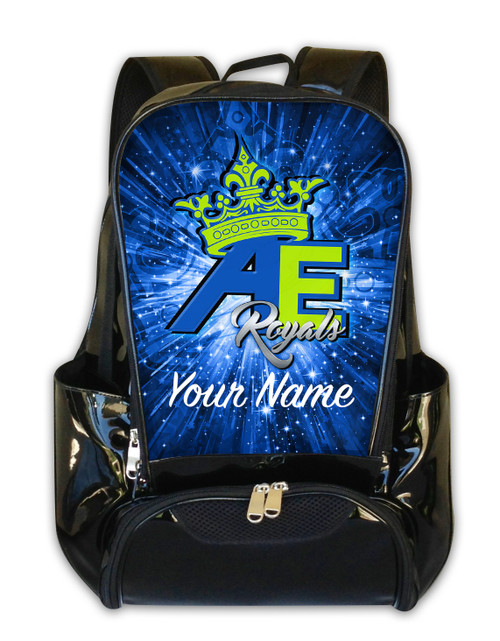 Alpha Extreme Royals - Personalized Backpack