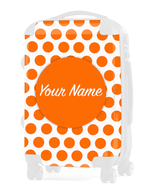 "INSERT for Orange Polka Dots - 24"" Check-in Luggage"