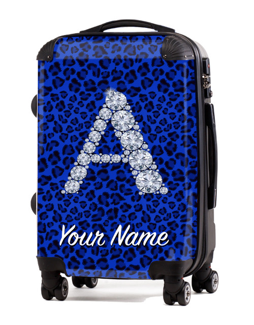 "Blue Cheetah - 24"" Check-in Luggage"