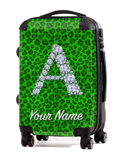 "Green Cheetah - 24"" Check-in Luggage"