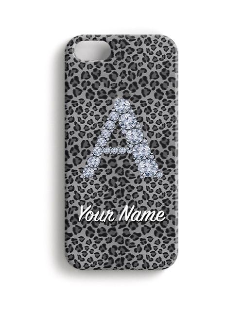 Grey Cheetah - Phone Snap on Case