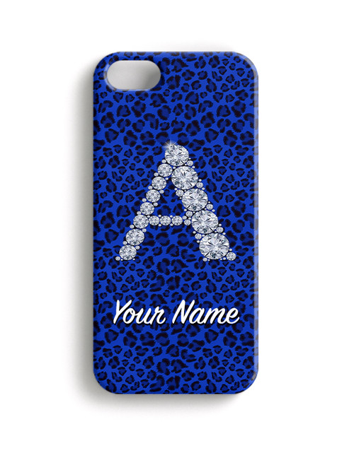 Blue Cheetah - Phone Snap on Case