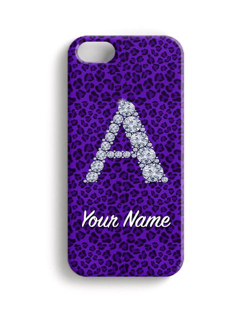 Purple Cheetah - Phone Snap on Case