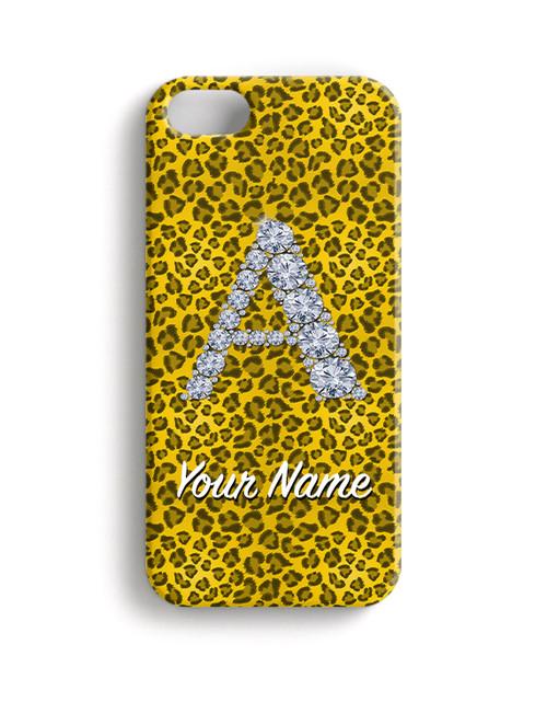 Yellow Cheetah - Phone Snap on Case