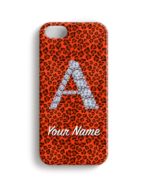 Orange Cheetah - Phone Snap on Case
