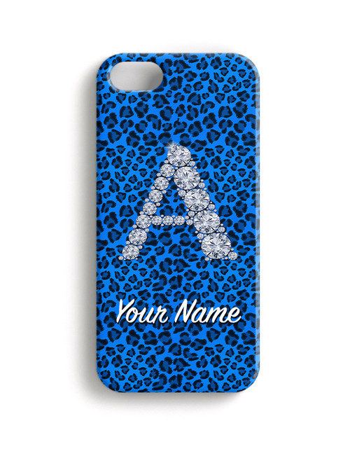 Baby Blue  Cheetah - Phone Snap on Case