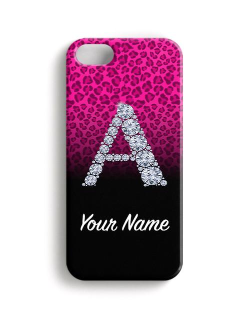 Pink/Black Cheetah - Phone Snap on Case