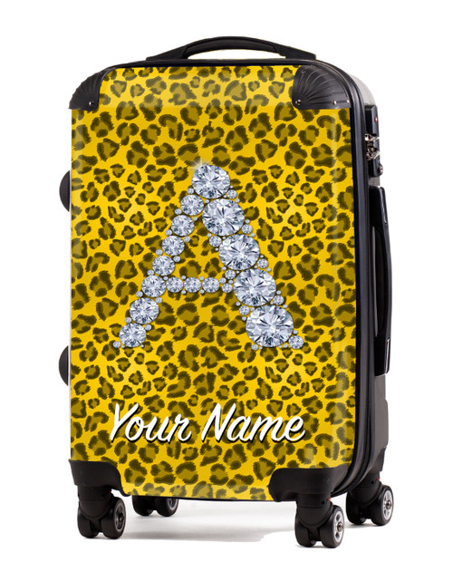 """Yellow Cheetah - 20"""" Carry-On Luggage"""