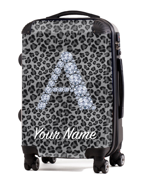 "Grey Cheetah - 20"" Carry-On Luggage"