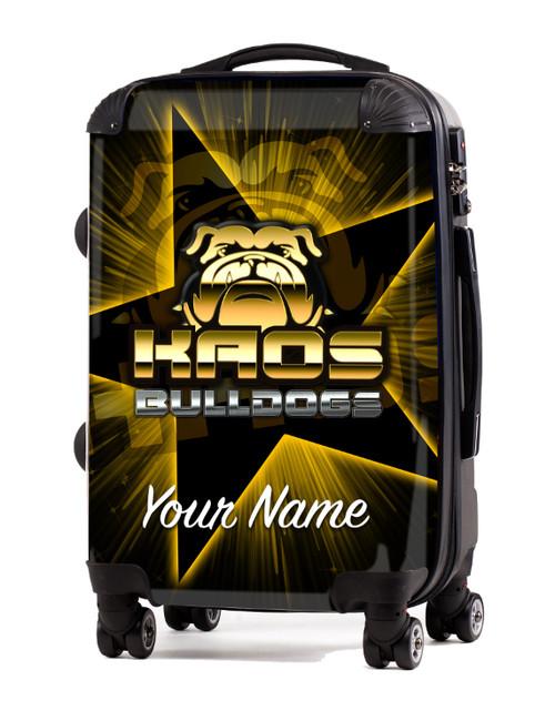 "KAOS Bulldogs Cheer- 20"" Carry-On Luggage"