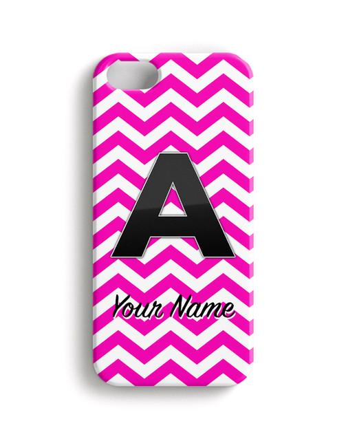 Pink Chevron - Phone Snap on Case