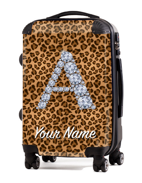 "Natural Cheetah - 20"" Carry-On Luggage"