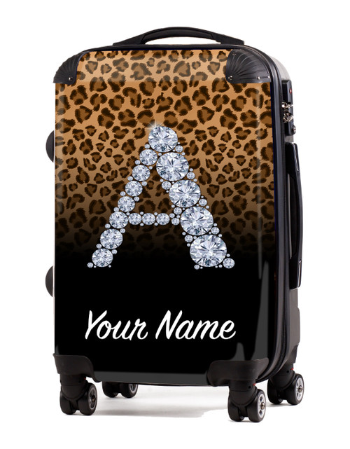 "Natural-Black Cheetah - 20"" Carry-On Luggage"