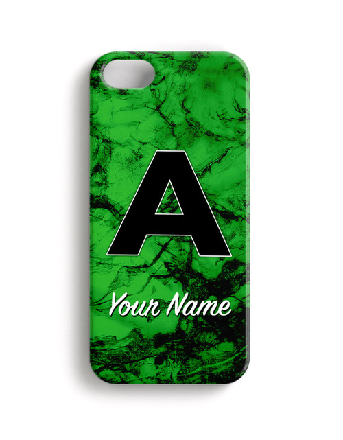 Green Marble - Phone Snap on Case