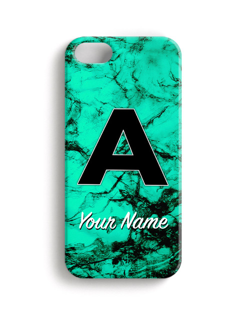 Teal Marble - Phone Snap on Case