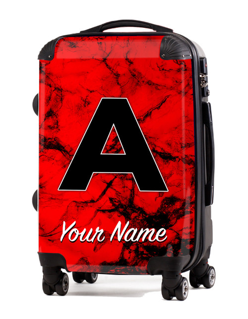 """Red Marble - 24"""" Check-in Luggage"""