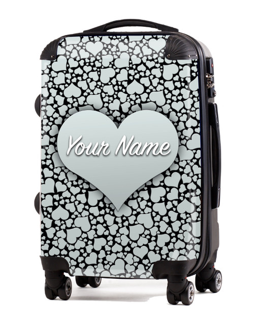 """Silver Hearts - 20"""" Carry-On Luggage"""