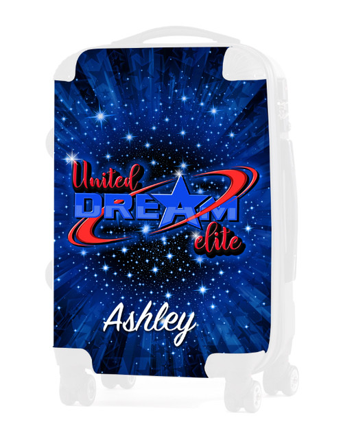 """United Dream Allstar Cheerleading  - Replacement Graphic Insert for 20"""" Luggage"""