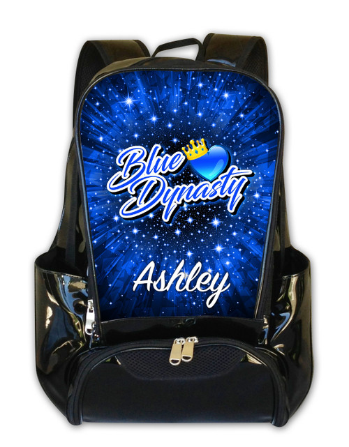 Blue Dynasty Personalized Backpack