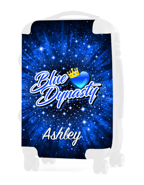 "Blue Dynasty - Replacement Graphic Insert for 20"" Luggage"