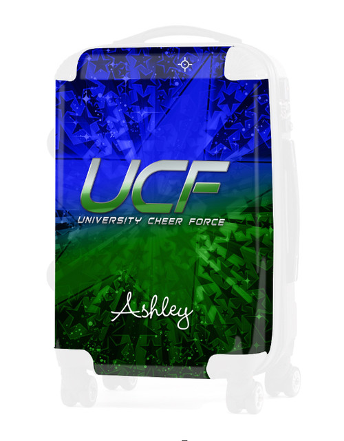 """University Cheer Force - Replacement Graphic Insert -24"""" Check-in Luggage"""
