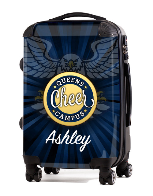 """Queens Campus Cheer - 20"""" Carry-On Luggage"""
