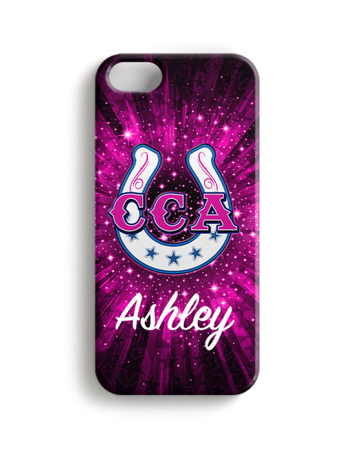 Cowgirl Chaos Athletics - Phone Snap on Case