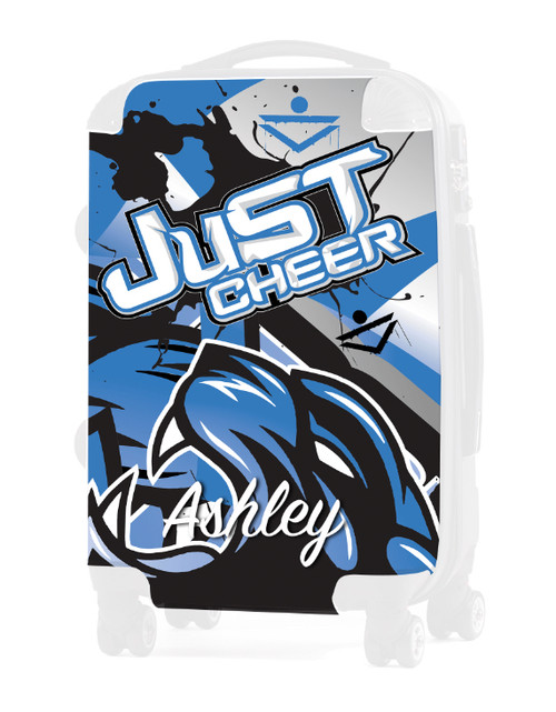 """Just Cheer - Replacement Graphic Insert - 20"""" Carry-on Luggage"""