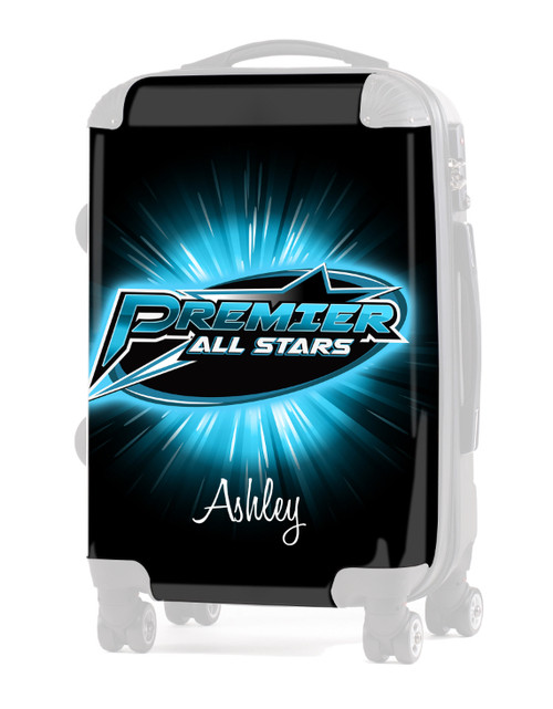 """Premier All Stars NJ - Replacement Graphic Insert - 20"""" Carry-on Luggage"""