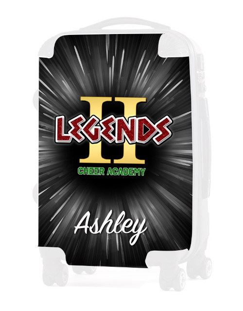 """Cheer Legends Academy - Replacement Graphic Insert - 20"""" Carry-on Luggage"""