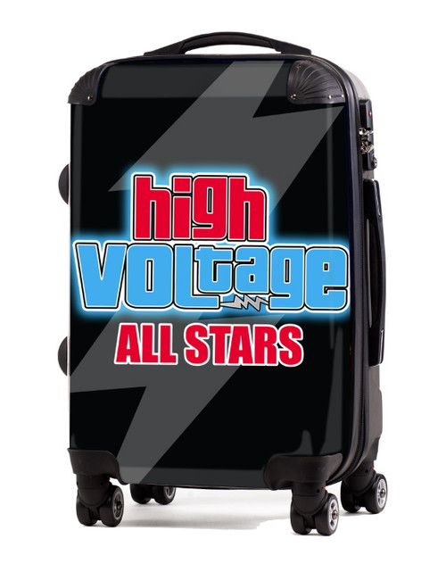 "High Voltage All Stars 20"" Carry-On Luggage"
