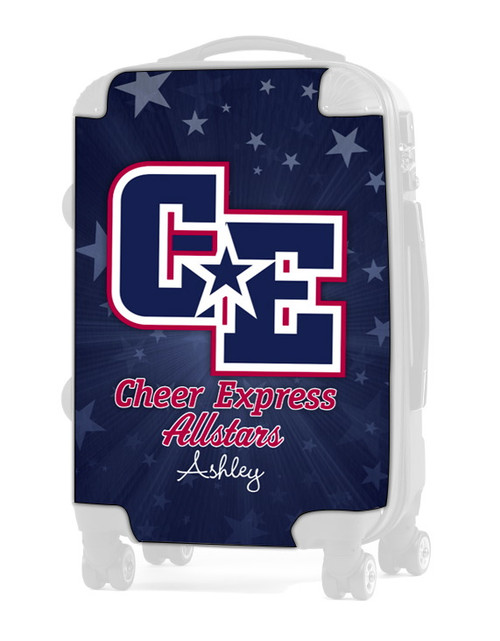 "Cheer Express All Stars Dark Blue 24"" Check In Luggage Insert"