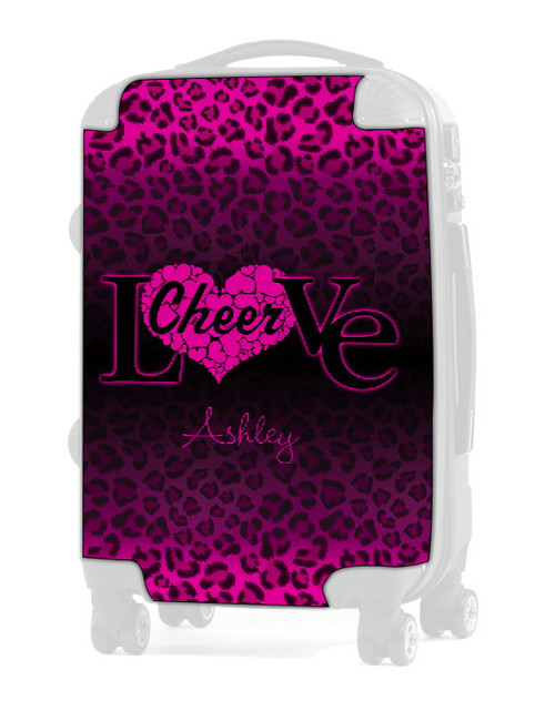 "Love Cheer Pink  24"" Check In Luggage Insert"