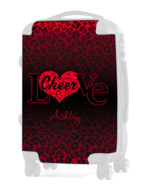 """Love Cheer Red 24"""" Check In Luggage Insert"""