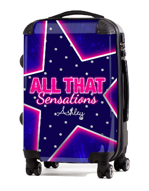 "All That Sensation 20"" Carry-On Luggage"