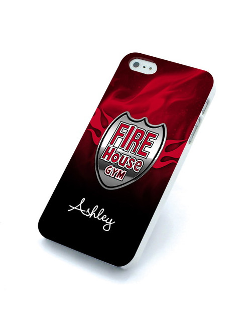 Fire House Gym Personalized iPhone Cases
