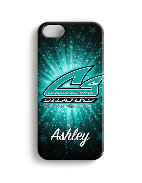 Cheer Sport Sharks-Phone Snap on Case