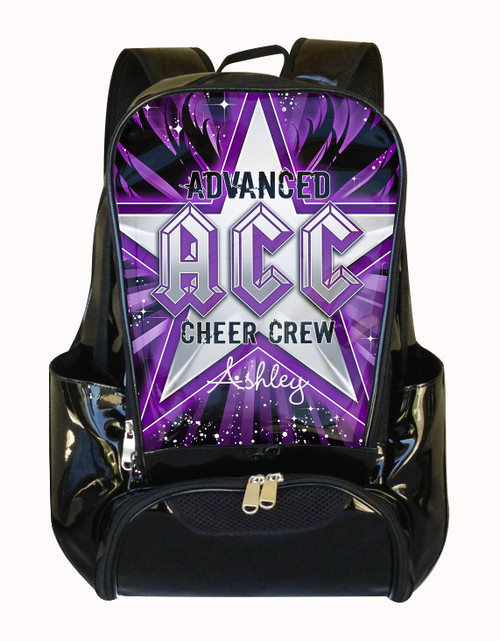 Advanced Cheer Crew Personalized Backpack