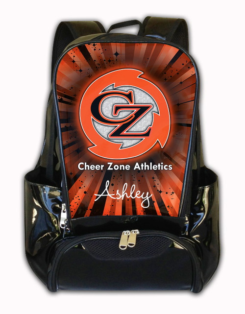 Cheer Zone Athletics Personalized Backpack