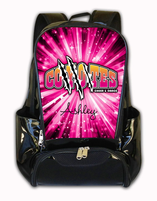 Coyotes Cheer and Dance Personalized Backpack