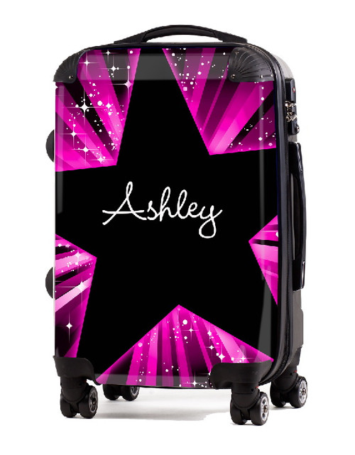 "Pink Blast 24"" Check In Luggage"